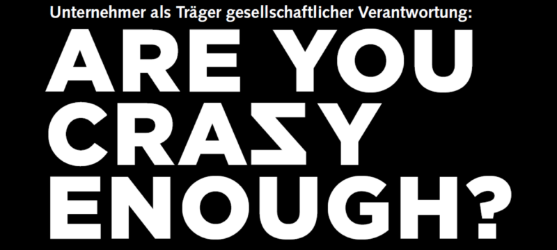 Essay: Are you crazy enough