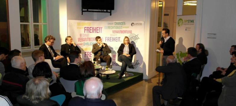 Nachbericht: WERTvoll – Diskussionsveranstaltung in Graz