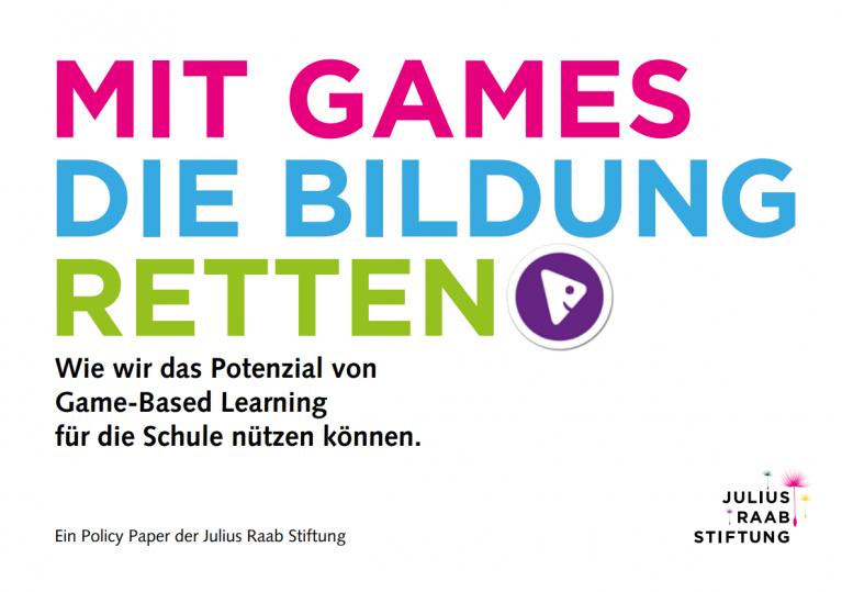 Mit Games die Bildung retten