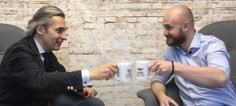 Café Julius mit Michael Hagelmüller | Mai 2018