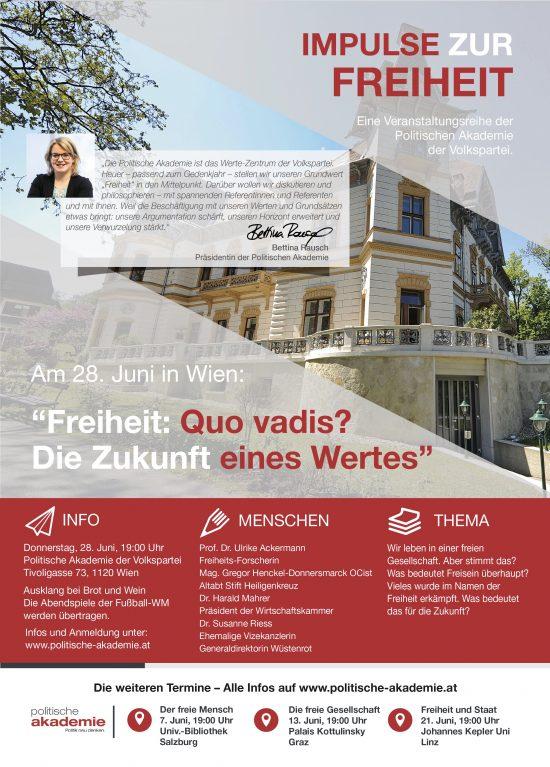 Politische Akademie ÖVP Freiheit