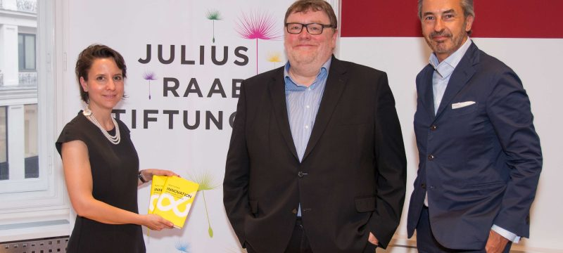 Café Julius mit Wolf Lotter | Juni 2018