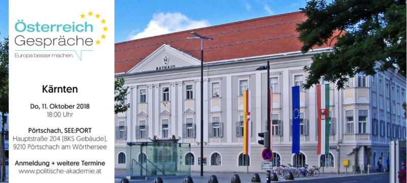 Österreich Gespräch Kärnten