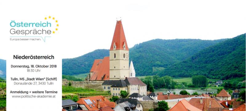 Österreich Gespräch Niederösterreich