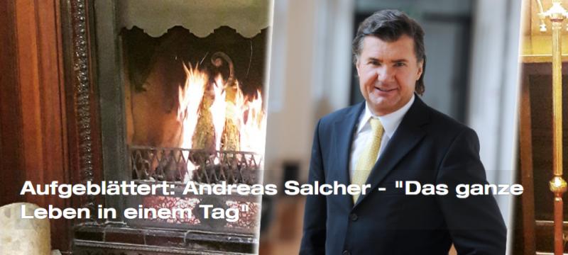 """Aufgeblättert: Andreas Salcher – """"Das ganze Leben in einem Tag"""""""
