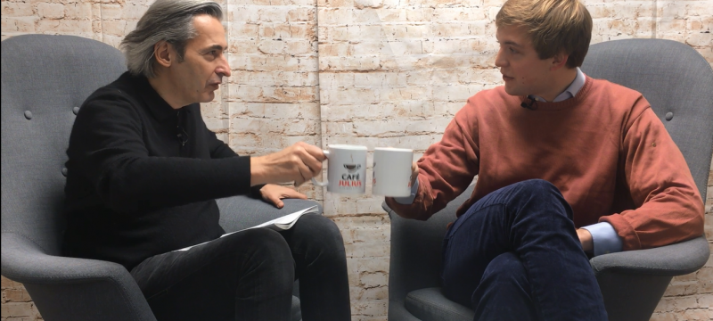 Café Julius mit Joseph Kap-herr | Januar 2019