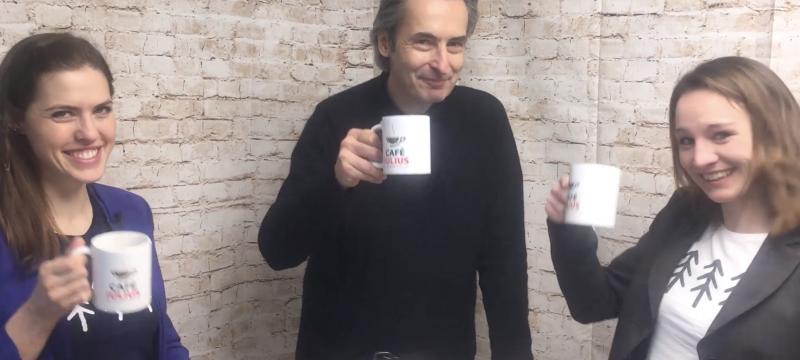 Café Julius mit Claudia Bergero & Sandra Falkner | März 2019