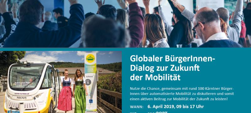Globaler BürgerInnen – Dialog zur Zukunft der Mobilität