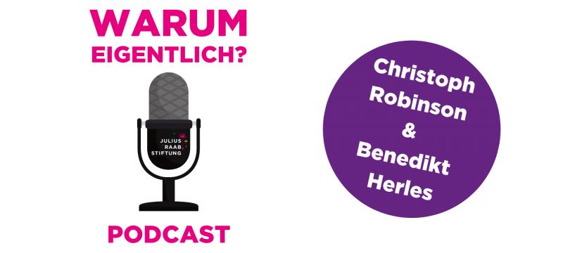 """Benedikt Herles zu Gast bei """"Warum eigentlich?"""""""