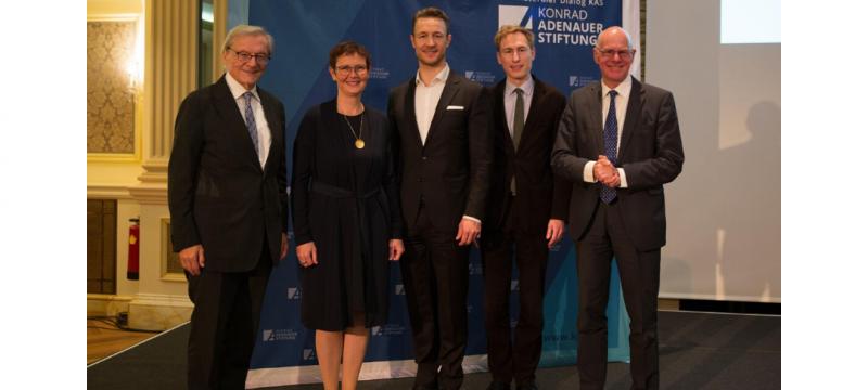 Eröffnung Konrad Adenauer Stiftungsbüro in Wien