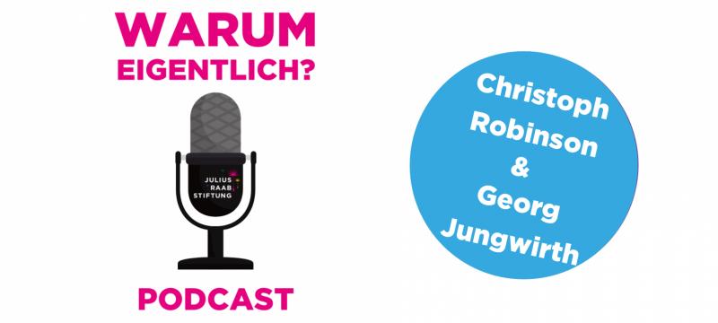 """Georg Jungwirth zu Gast bei """"Warum eigentlich?"""""""