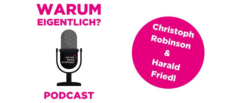 """Harald Friedl zu Gast bei """"Warum eigentlich?"""""""