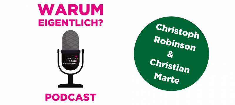 """Christian Marte zu Gast bei """"Warum eigentlich?"""""""