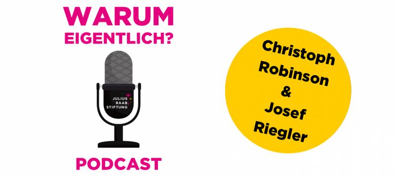 """Josef Riegler zu Gast bei """"Warum eigentlich?"""""""