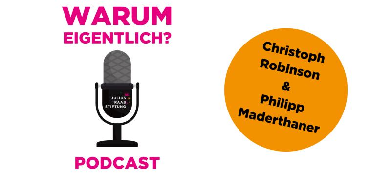 """Philipp Maderthaner zu Gast bei """"Warum eigentlich?"""""""