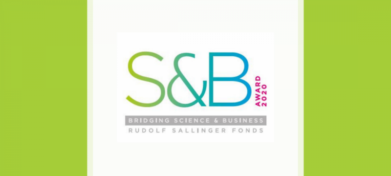 Rudolf Sallinger Fonds: S&B Award – Bridging Science & Business