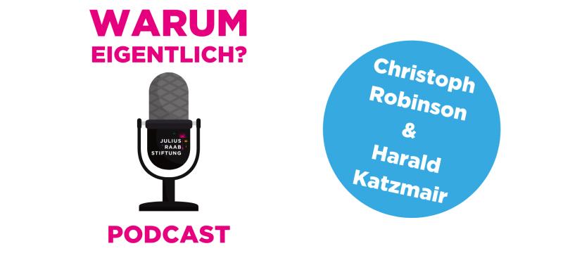 """Harald Katzmair zu Gast bei """"Warum eigentlich?"""""""