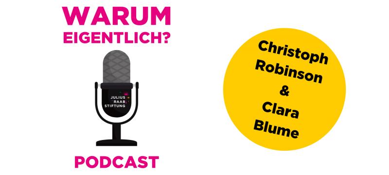 """Clara Blume zu Gast bei """"Warum eigentlich?"""""""
