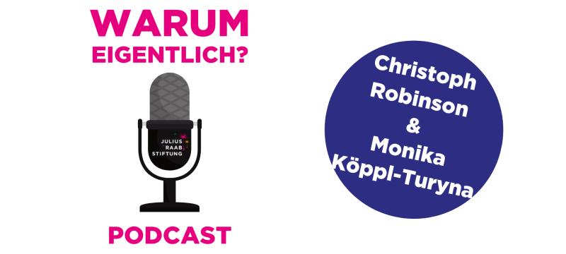 """Monika Köppl-Turyna zu Gast bei """"Warum eigentlich?"""""""